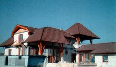Egyedi építésű családi ház