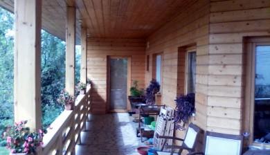 Könnyűszerkezetes ház külső lambéria burkolat